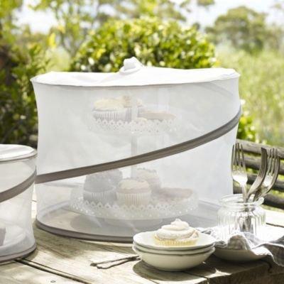 Pop-up-filet de protection pour les denrées alimentaires, les tartes, & extra haut 40 cm ø 28 cm