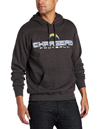 NFL Mens San Diego Chargers 1st And Goal IV Long Sleeve Hooded Fleece Pullover by NFL
