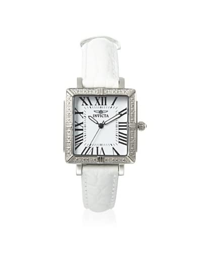 Invicta Women's 11729 Wildflower White Dial 5-Interchangeable Strap Watch
