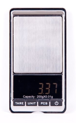 Quantum 200g/0.01g Balance électronique de poche professionnelle /pour courrier, école, cuisine 200g/0.01g