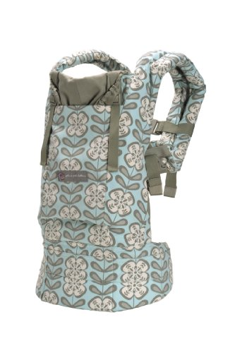 Ergo Baby for Petunia Pickle Bottom Organic Baby Carrier - Peaceful Portofino