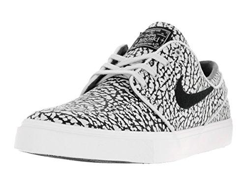 Nike Men's Zoom Stefan Janoski Elite Pure Platinum/Black/White Skate Shoe 10.5 (Stefan Janoski Nike Shoes compare prices)