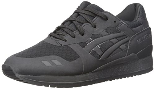 ASICS GEL Lyte III NS Retro Running Shoe, Black/Black, 9.5 M US