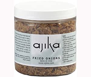Ajika Fried Onions - For Indian, Persian, African, Middle Eastern, Chinese, Japanese Cooking