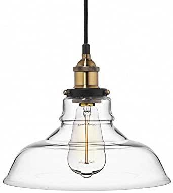 Glass Pendant Light By Deneve Best Top Mounted Hanging Ceiling Chandelier F