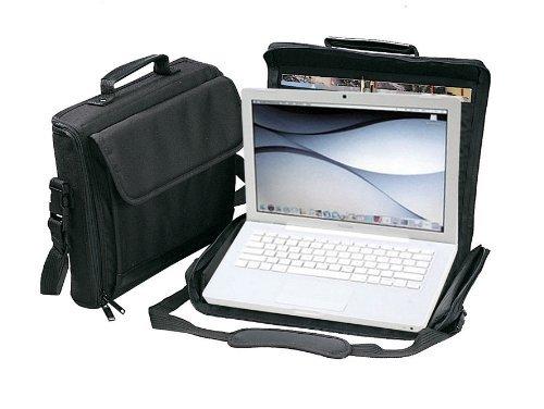 Black Compack Laptop Computer Briefcase Bag