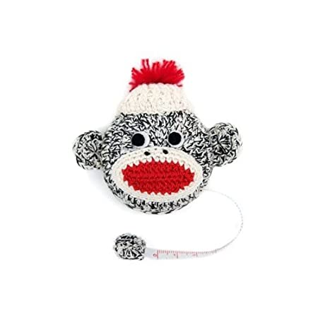 Lantern Moon Sock Monkey Tape Measure