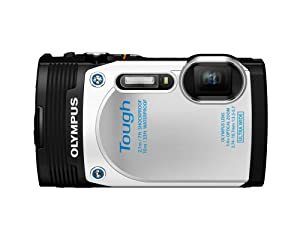 Olympus  Stylus TG-850 IHS 16 MP Digital Camera (White)