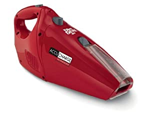 Dirt Devil Accucharge 15.6V Cordless Bagless Handheld Vacuum, BD10045RED