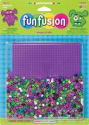 Perler Beads Fuse Bead Fun Shapes Maggie & Milo 62904; 3 Items/Order