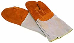 Matfer Bourgeat 773001 Forearm Protection Oven Mitts - Pair