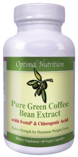 Svetol Green Coffee Bean Extract- 800mg of 100% Pure Svetol and Green Coffee Bean Extract-Safe and Effective All Natural Weight Loss Formula