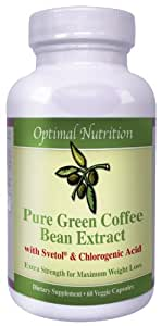 Svetol Green Coffee Bean Extract- 800mg of 100% Pure Green Coffee Bean Extract Svetol Boosts Balances Blood Sugar Levels Reduces Sugar Cravings Metabolism-Safe and Effective All Natural Weight Loss Formula Start Losing Today!