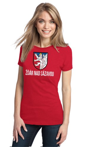 ZDAR NAD SAZAVOU , CZECH REPUBLIC Ladies' Vintage Look T-shirt / Bohemia Prague Praha
