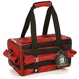 Ultimate Sherpa Bag Pet Dog Cat Carrier Large Red Airline from sherpa