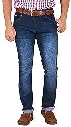 GOSWHIT Men's Slim Fit Jeans - 34