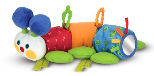 Melissa & Doug K'S Kids Traveling Inchworm Stroller Toy front-12022