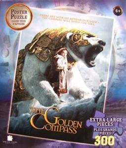 Cheap MEGA 300-Piece Poster Jigsaw Puzzle, The Golden Compass (B001P1L8ZO)