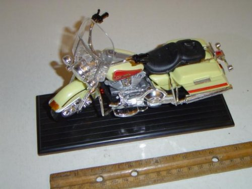 Classic Motorcycle 003 Scale 1:13 White Diecast