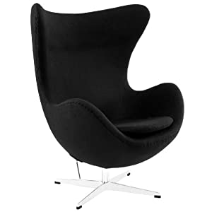 arne jacobsen egg chair black kitchen dining. Black Bedroom Furniture Sets. Home Design Ideas