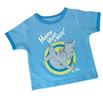 Amazon Dr Seuss Infant Vintage Tee Horton Hears a