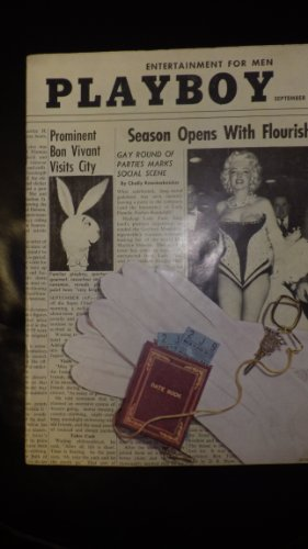 [Playboy Magazine September 1955. Marilyn Monroe on Cover in Swimsuit like outfit] (Hugh Hefner Outfits)