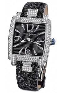 Ulysse Full Nardin Reloj para mujer Diamonds Caprice funda con tapa 133-91ac-06/02