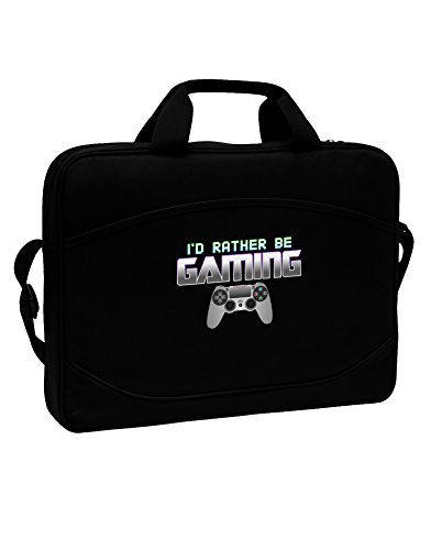 I'd Rather Be Gaming Messenger Bag