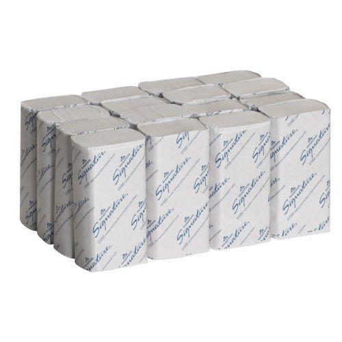 Georgia-Pacific Signature 21000 White 2-Ply Premium Multifold Paper Towel, 9.4