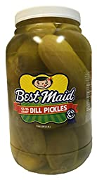 Best Maid Dill Pickles 12-16 count - 1 gallon