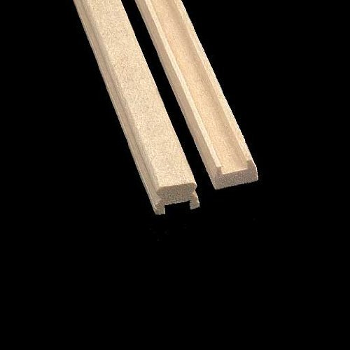 Dollhouse Miniature Classic Porch Railing - 1