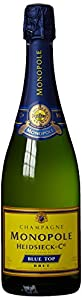 Champagne Heidsieck Monopole Blue Top Brut mit Neopren Gelb (1 x 0.75 l) by Heidsieck & Co. Monopole