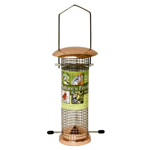 Cheap Nature's Feeding Time Deluxe Nut Feeder, Small, Copper (B004V4BFMI)