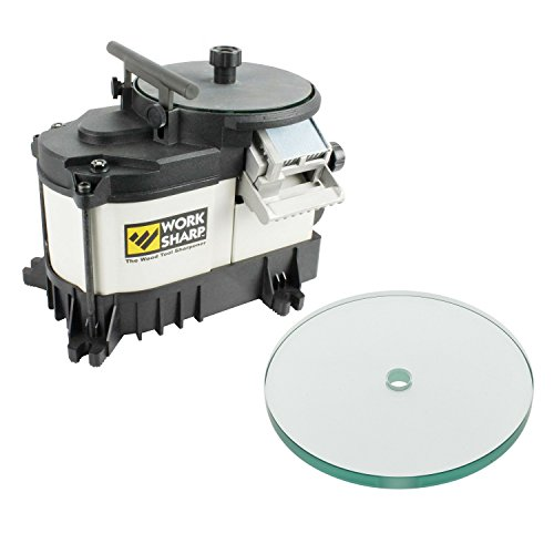 Work Sharp WS3000 WorkSharp Tool Sharpener with WSSA0002023 Tempered Glass Wheel (Work Sharp Heat Sink compare prices)
