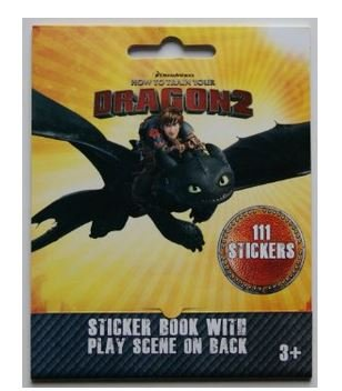 How To Train Your Dragon2 Stickers 111-Count Birthday Party Favor (Set of Two)