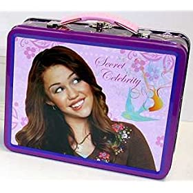Hannah Montana Tin Lunch Snack Box - PINK