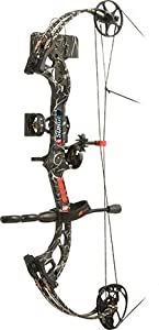 PSE Ready To Shoot Surge Bow Package with Right Hand 70# Draw, Break-Up Infinity,... by PSE