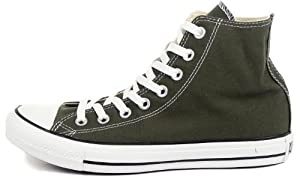Converse The Chuck Taylor All Star Hi Sneaker,11,Green
