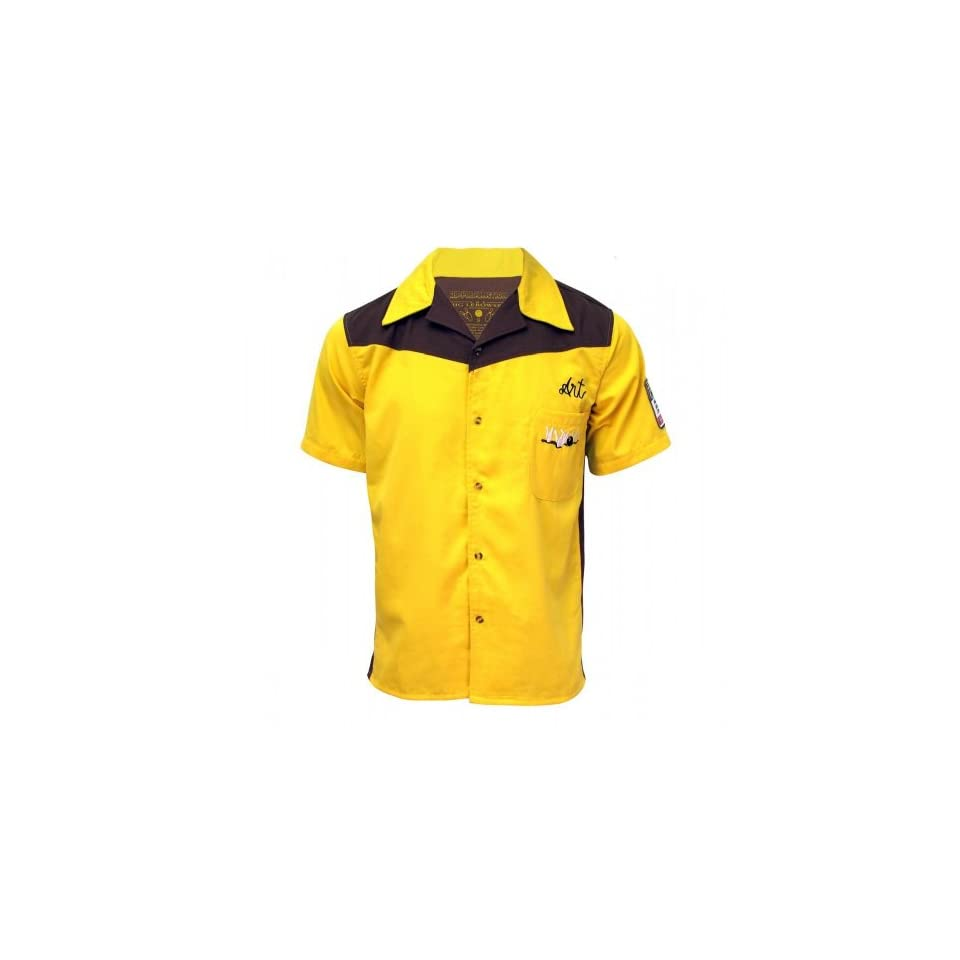 0224aab01 The Big Lebowski Bowling Shirt~ Medina Sod~ Officially Licensed~ Dude  Approved, Yellow, XXLarge