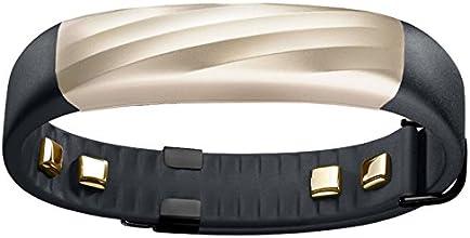 【日本正規代理店品/数量限定色】Jawbone UP3 ワイヤレス活動量計リストバンド 9/4ファームウェア更新によりシームレスな睡眠計 心拍計 ブラックゴールド