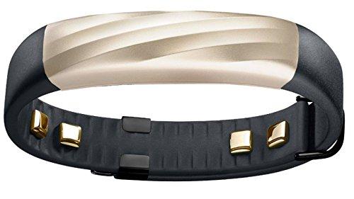 【日本正規代理店品】Jawbone UP3 ワイヤレス活動量計リストバンド 睡眠計 心拍計 ブラックゴールド