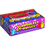 Toy - Assorted Coloured Party Bubbles pack of 24