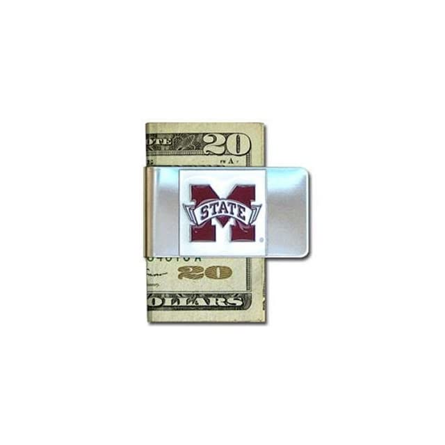 Mississippi State Bulldogs Money Clip  Sports Related Merchandise  Sports & Outdoors
