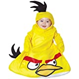 Paper Magic Mens Rovio Angry Birds Yellow Bird Bunting Infant Costume