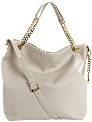 MICHAEL Michael Kors Jet Set Large Chain Hobo,Vanilla,one size