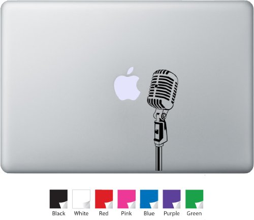 Microphone Decal For Macbook, Air, Pro Or Ipad