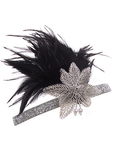 Vijiv-Vintage-Black-Silver-Headpiece-Flapper-Headband-1920s