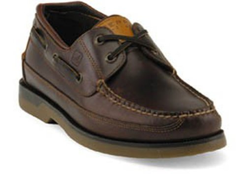 Sperry Top-Sider Men's Mako 2-Eye Canoe Moc Amaretto Size 9
