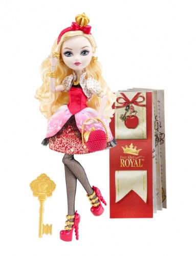 EVER AFTER HIGH DOLL APPLE WHITE MONSTER HIGH NEW NIB ...