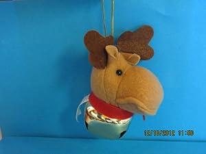 Jingle Bell Reindeer Christmas Tree Ornament